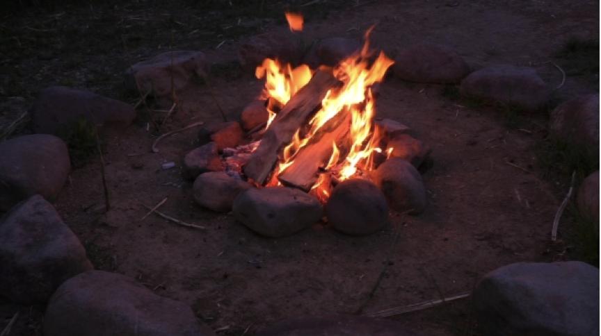 焚き火の季節 なぜ乾燥した薪で楽しむのが良いのか?