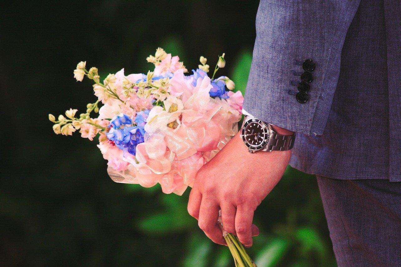 ブーケブートニア儀式は生花、造花どっちが良いの?新婦が提案していいの?